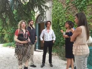 team padiglione Nigeria biennale di architettura venezia